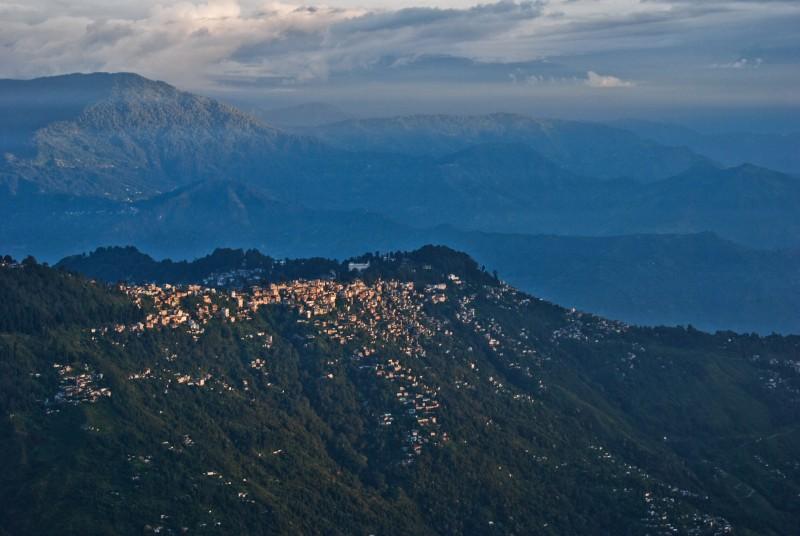 Amanecer en Darjeeling