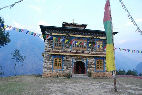 El monasterio de Kharikhola