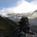 Vista del Khumbu glacier