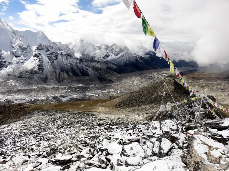 Vista amplia desde Khala-Pattar