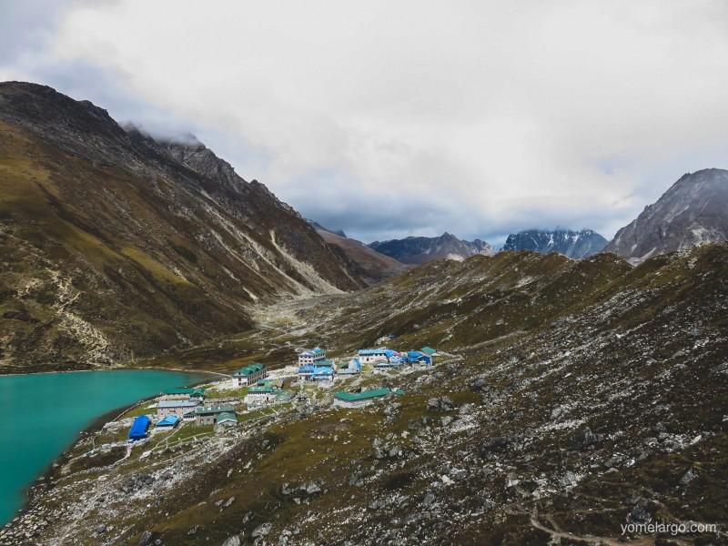 Gokyo entre lago y glaciar